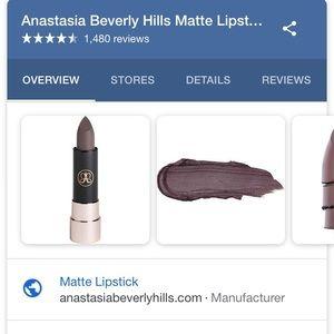 "Anastasia Beverly Hills Other - NEW Anastasia Beverly Hills ""Griffin"" Lipstick"